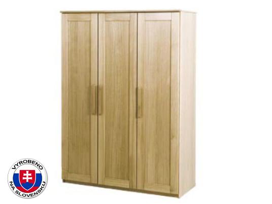 Šatní skříň z masivu - Styler - Petra - P3 DDD